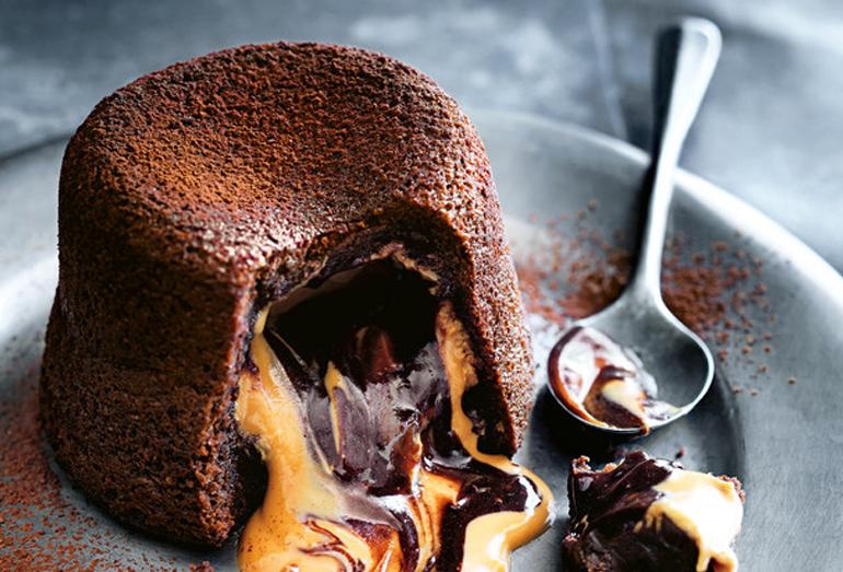 04_Molten Peanut Butter Choco Fondant Cake