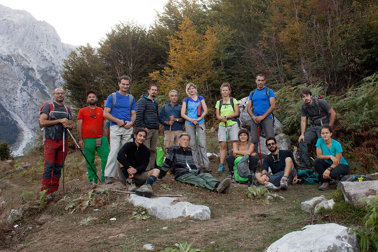I componenti della spedizione