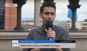 """Pablo Sierra, CEO de """"Tugo"""", una aplicación 100% guatemalteca"""