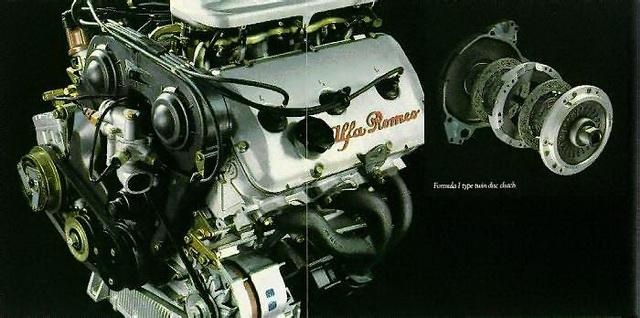 Alfa Romeo GTV6 2.5 motor & kupplung