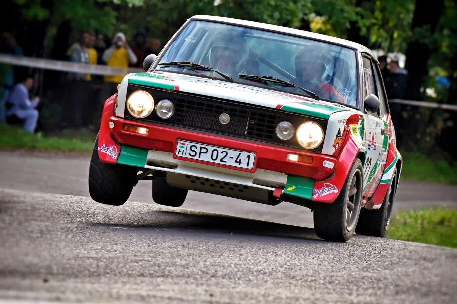 2. helyen a Fiat 131 Racing a 2016-os Baranya Kupán