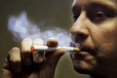 epa01217666 A customer uses a device called 'supersmoker', made