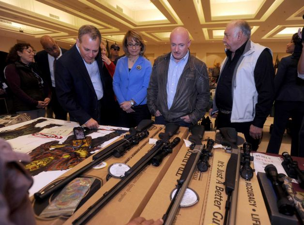 Gabrielle Giffords and Husband Mark Kelly Attended Gun Show