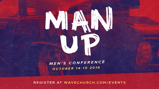 Wave Church 'Man Up' Conference Aims to Empower Men