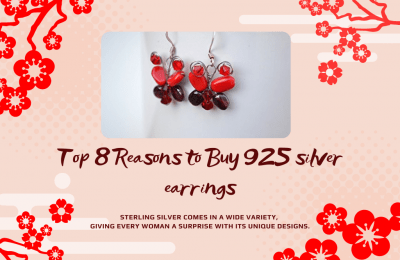 Top 8 Reasons to Buy 925 silver earrings
