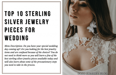 Top 10 sterling silver jewelry pieces for wedding