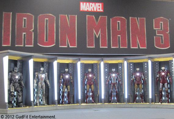 San Diego Comic Con - Ironman 3 - GudFit