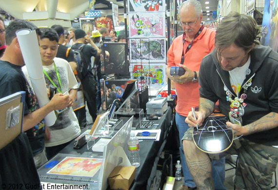 San Diego Comic Con - Robert Carter Shades of Shadow - GudFit