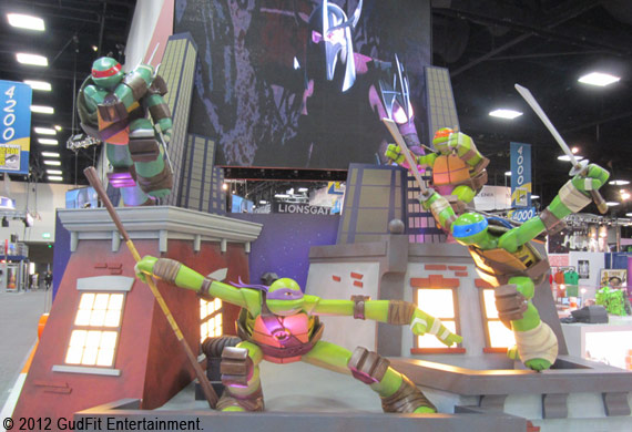 San Diego Comic Con - TMNT - GudFit