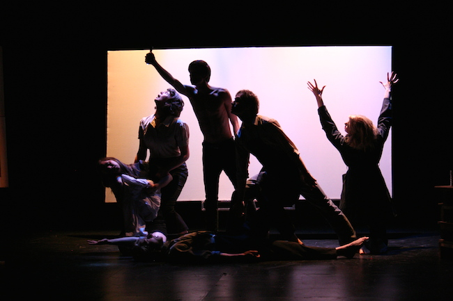 Guernica a play, 2011. Nextfest, Edmonton. Courtesy of Erika Luckert.