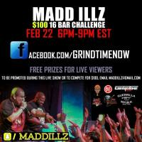 16 BAR CHALLENGE WITH MADD ILLZ OF GRINDTIMENOW