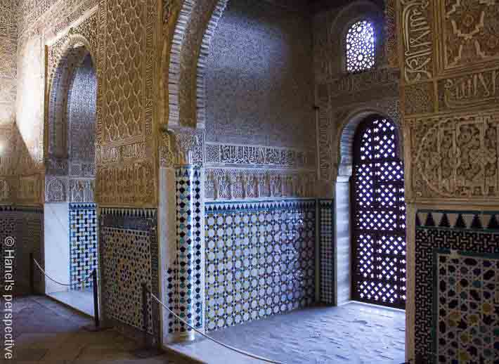 ambassadors room alhambra spain