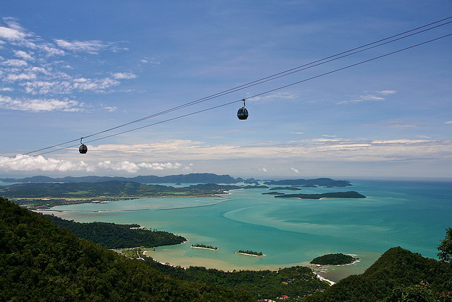 langkawi cable car view