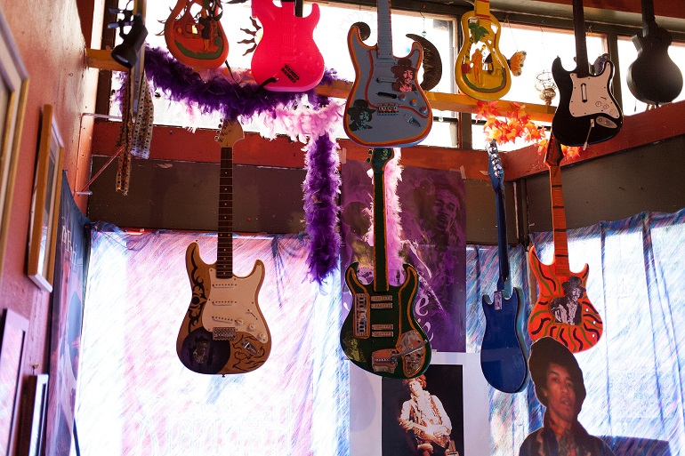 Jimi Hendrix Shrine Vancouver BC