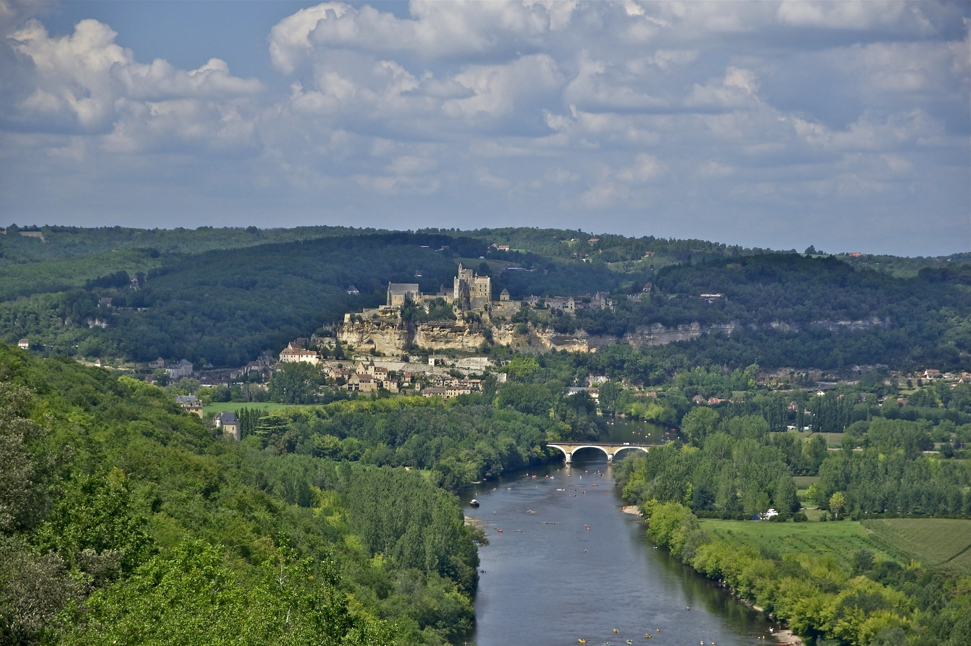 Beynac Castle Village  Dordogne