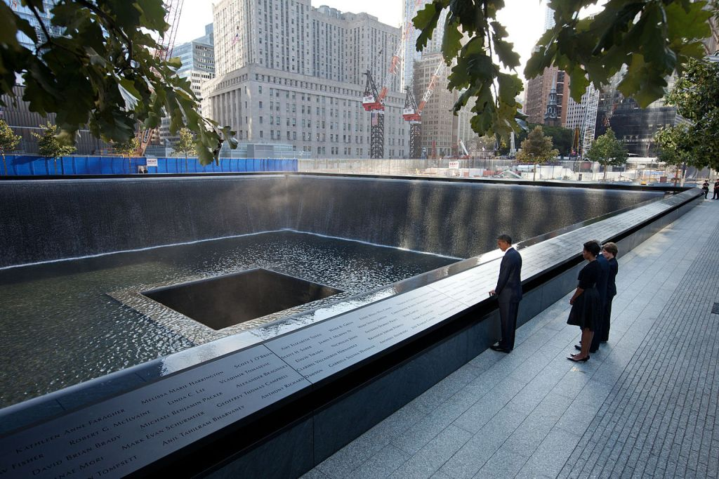 Obama Bush National 911 Memorial