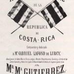 Portada de la primera edición del Himno Nacional