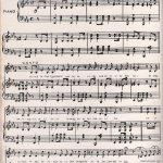 Partitura Himno Nacional