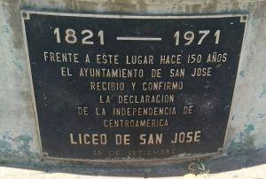 Independencia de Costa Rica