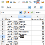 Autofill in Excel is AutoInput in OpenOffice [OpenOffice Calc]