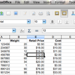 FAQ: Locking/Freezing Heading Rows in OpenOffice Calc [and Freezing Columns, too!]