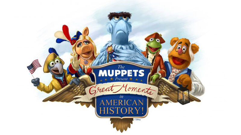 """The Muppets Present Great Moments in American History"" coming to Magic Kingdom Oct 2"