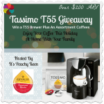 Tassimo T55 Giveaway!! (CLOSED)