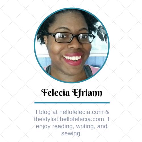 Felecia Efriann blogger spotlight