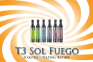 eGo T3 Sol Fuego – Bottom Coil Changeable Cartomizer Review