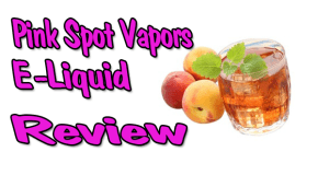 Peach Green Tea E-Liquid Review