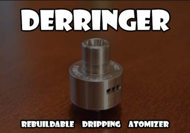 derringer rebuildable dripping atomizer
