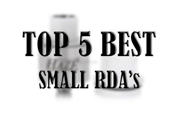 top 5 best small rdas