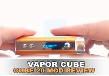 vapor cube cube 20 mod review