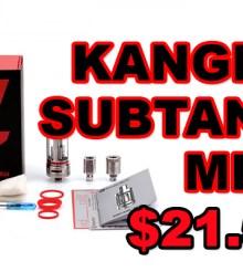 Kanger Subtank Mini and Free Unicorn Bottle – $21.55