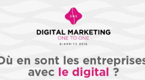 Où en sont les entreprises avec le Digital ? Infographie #DM1to1 pour 2015