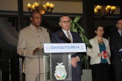 Audience à Sékhoutouréya: l'UE promet 15 milliards d'euros à l'Afrique