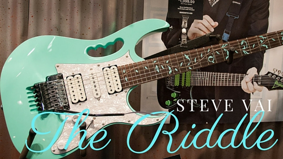steve vai the riddle tab