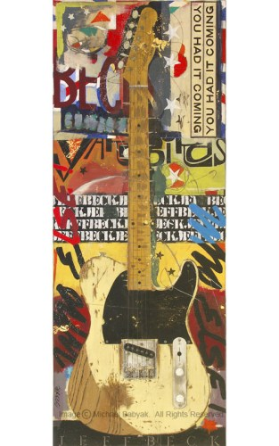 Jeff Beck Guitar Esquire Telecaster