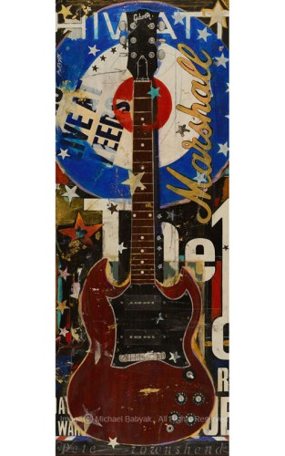 Pete Townshend Guitar Gibson SG Special