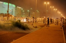 Kuwaiti Police Teargas Opposition Protest