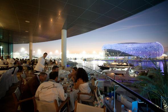 Restaurant review cipriani yas island gulf business for Ristorante cipriani abu dhabi