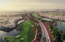 Jumeirah Golf Estates aerial shot - 4