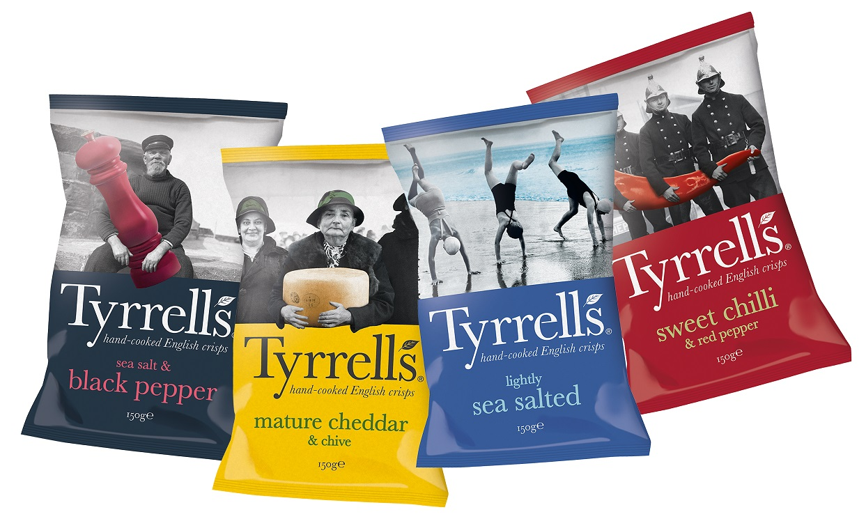 Posh crisp maker Tyrrells snapped up by Amplify Snack Brands for £300m