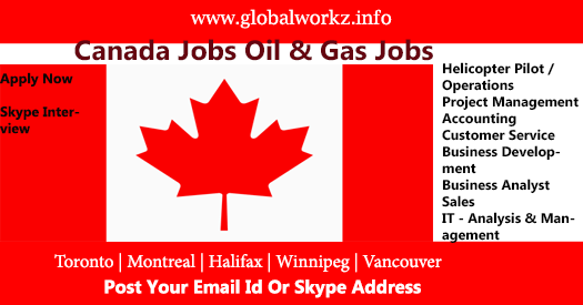 Canada Oil & Gas Job Openings - oil and Gas Jobs