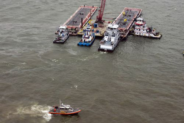 Galveston Re-opens to Vessel Traffic, Oil Still Being Cleaned Up