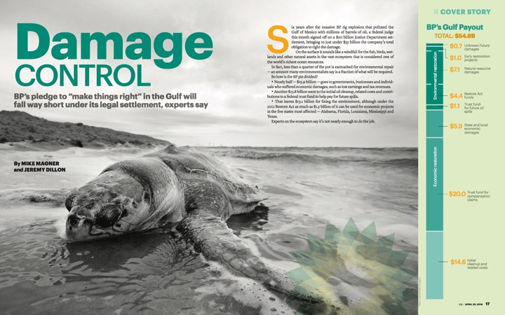 "GSI's Harlon Pearce Featured in CQ Magazine, ""Damage Control in The Gulf"""