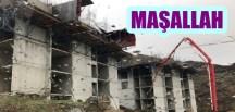 GÜMÜŞHANE'DE 528 TOKİ KONUTU HIZLA YÜKSELİYOR