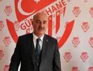 ŞERİF BAŞKAN'DAN GÜMÜŞHANESPOR TEKNİK EKİP VE OYUNCULARINA TATLI İKRAMI