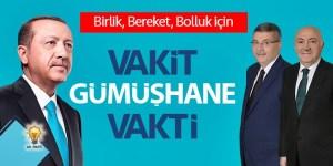 VAKİT GÜMÜŞHANE VAKTİ -AK PARTİ-