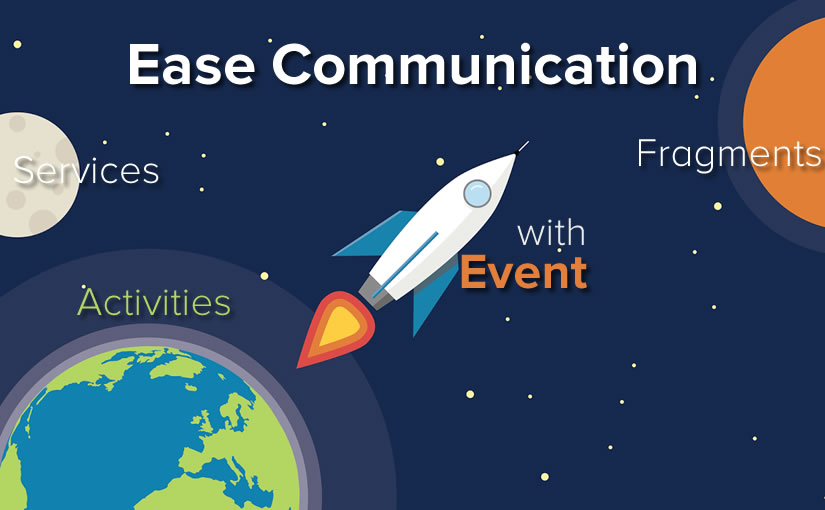 Ease Communication Between Activities, Fragments, and Services